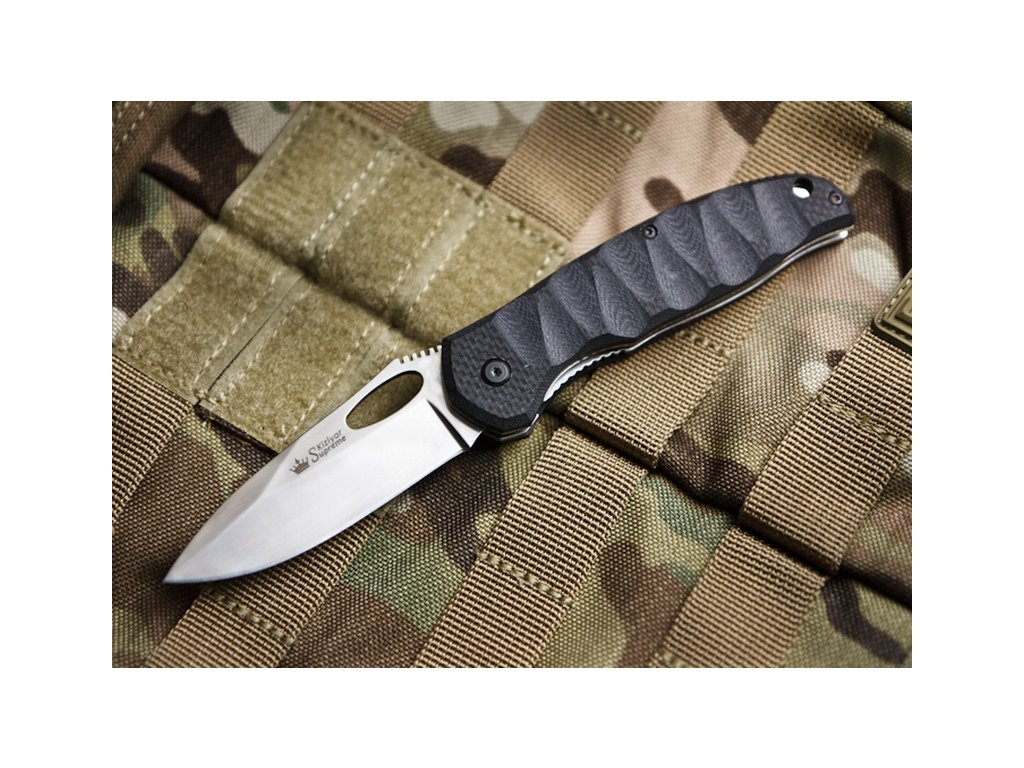 Nôž Kizlyar Supreme Hero 440C P