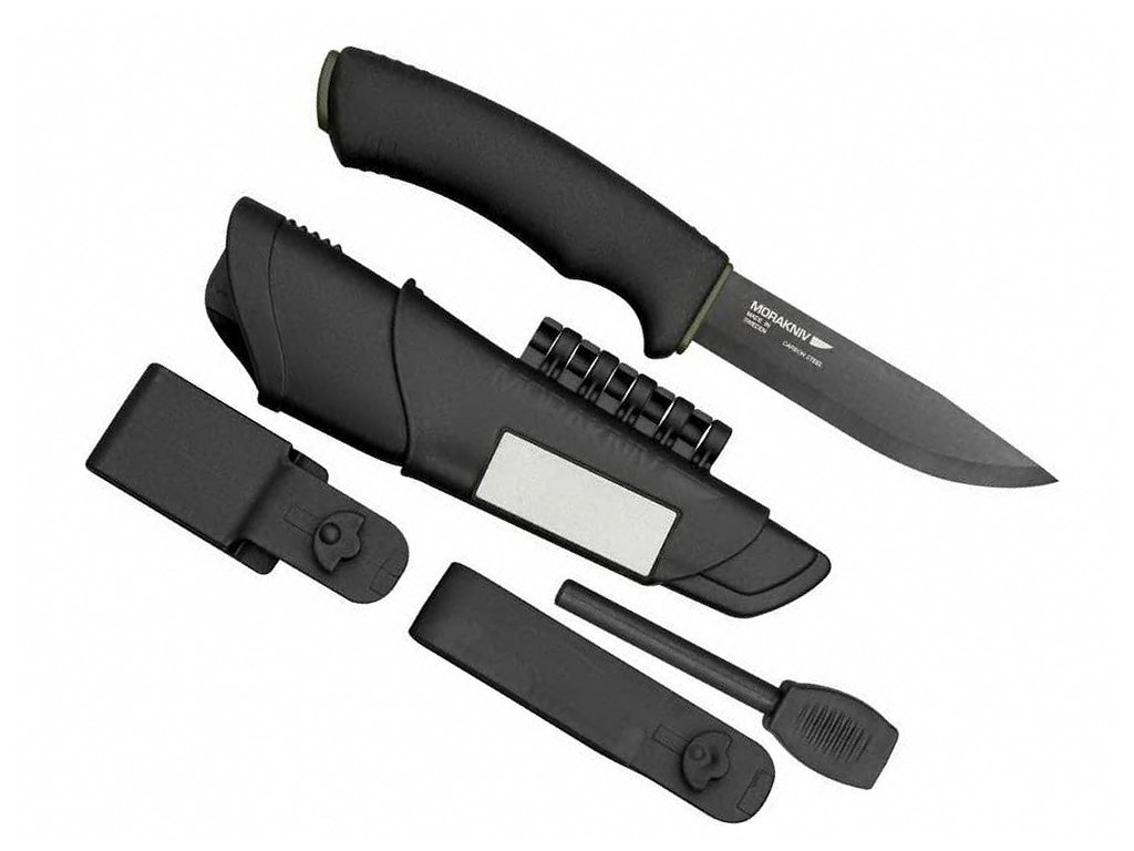 noz mora bushcraft survival black