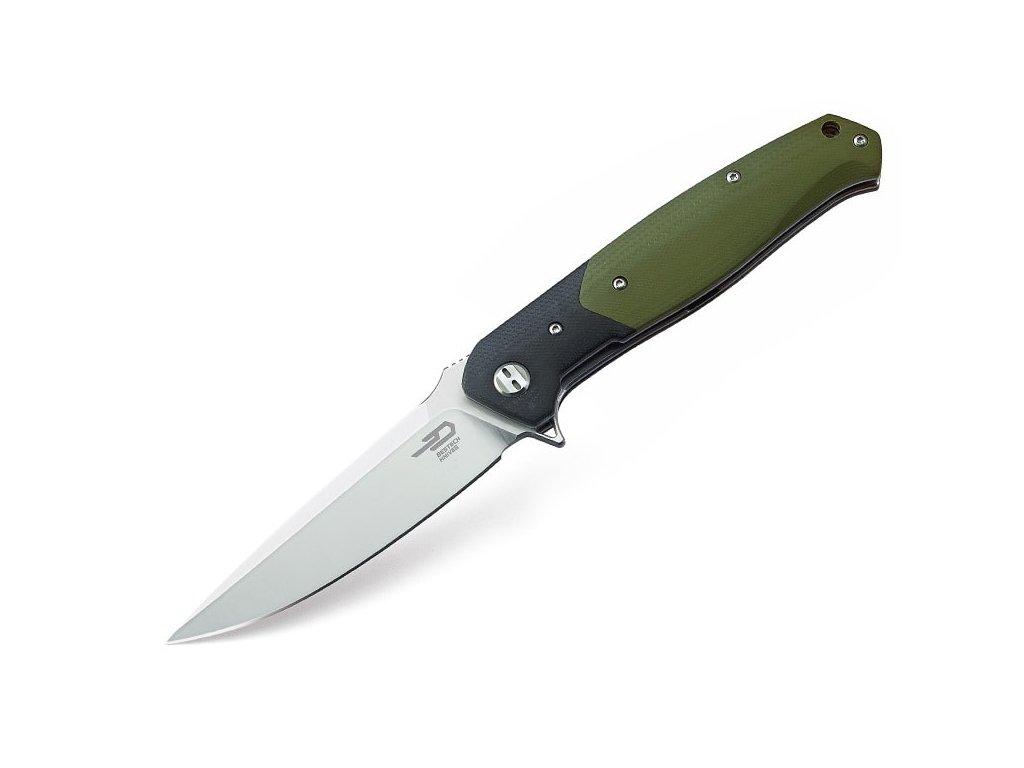 Nôž Bestech Swordfish Black & Green BG03A