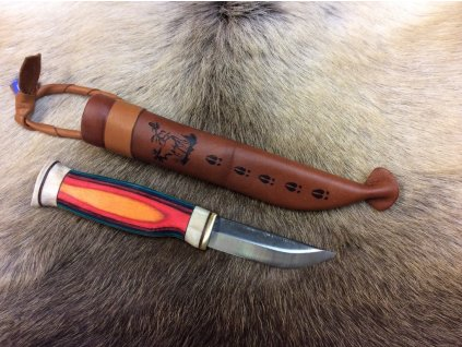 Nôž Wood Jewel Revontuli Puukko - Northern Lights Knife