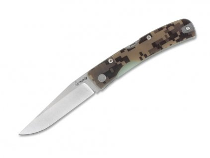 Nôž Manly Peak Desert Camo D2  (two hand)