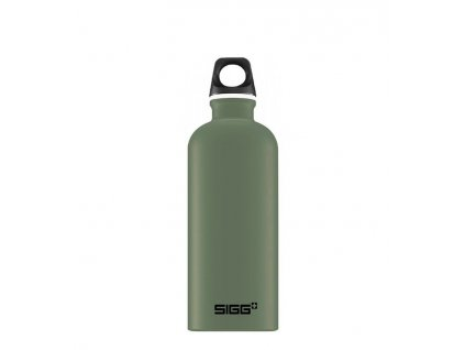 flasa sigg 0,6l 8744.10 alu traveller green leaf min