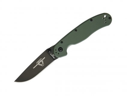 Nôž Ontario RAT II D2 OD Green ON8830OD