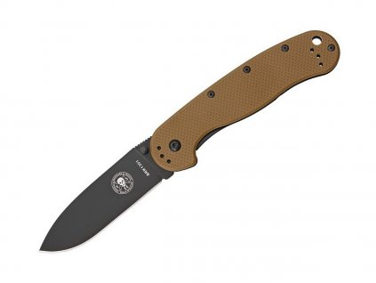 Nôž ESEE Avispa D2 Coyote Brown - Black