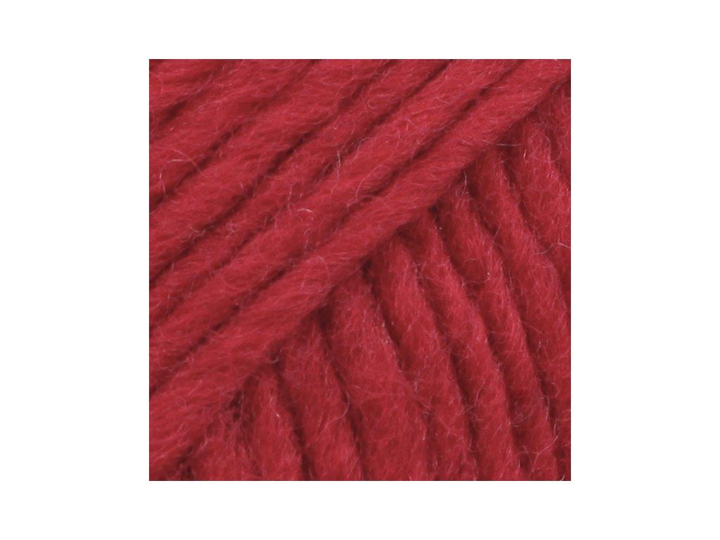 DROPS Eskimo uni colour 08 - červená