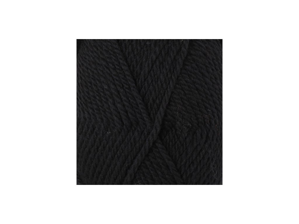 DROPS Alaska uni colour 06 - černá