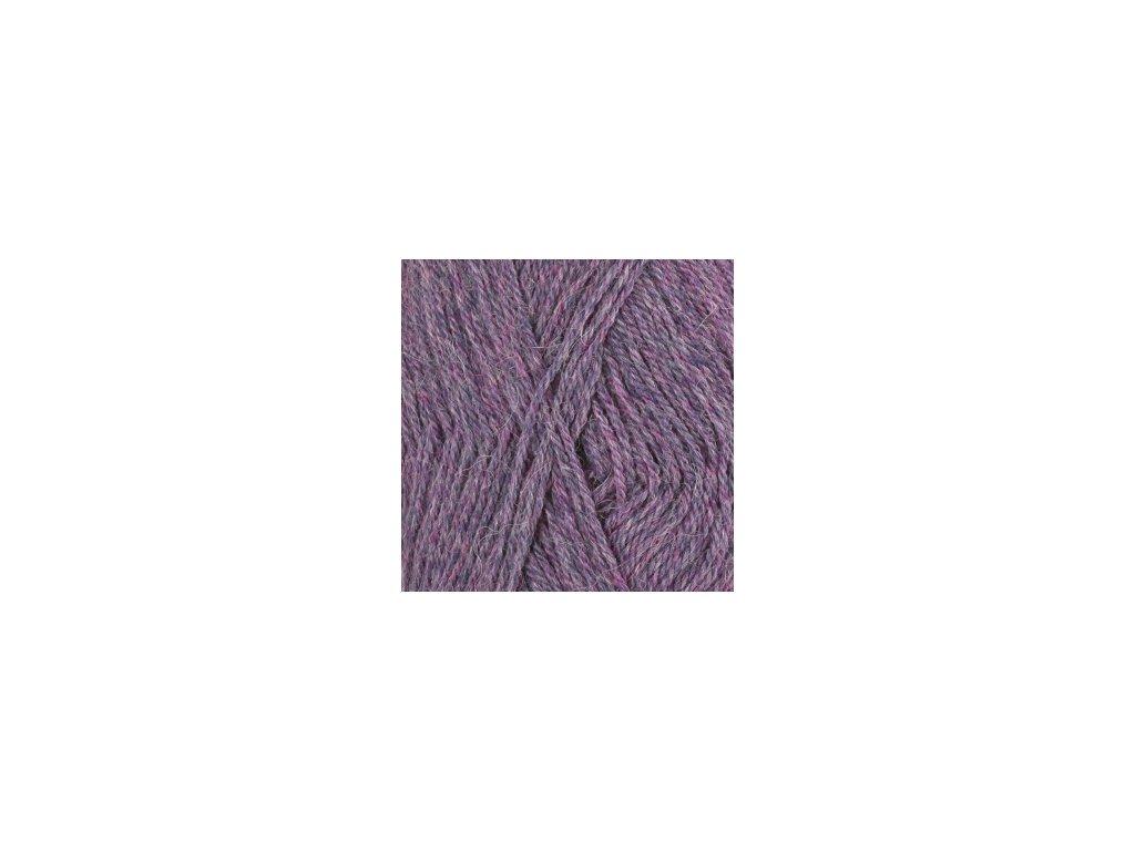 DROPS Alpaca mix 4434 - purpurová/fialová