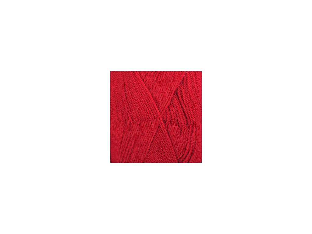 DROPS Alpaca uni colour 3620 - červená