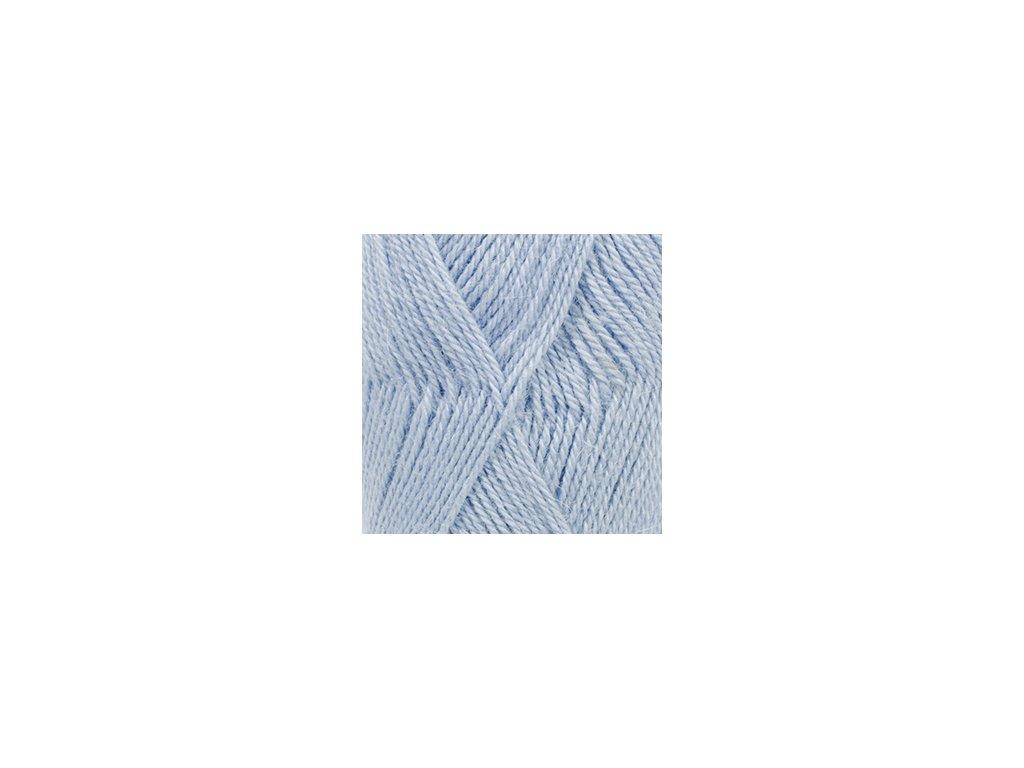 DROPS Alpaca uni colour 6205 - světlá modrá