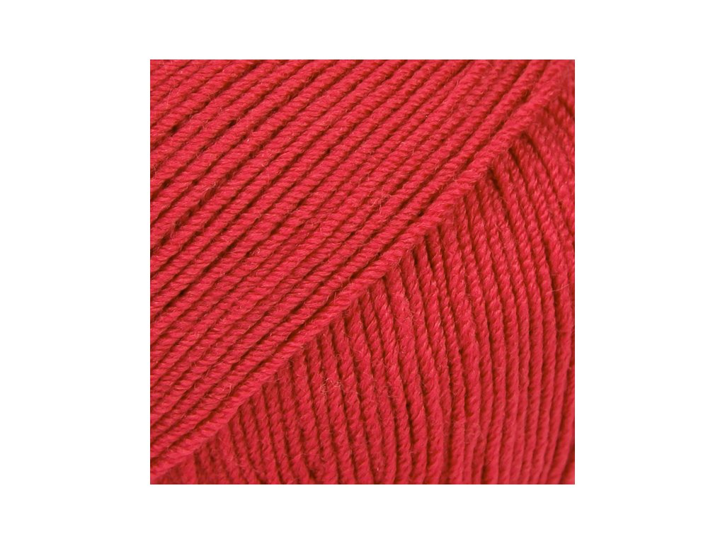 DROPS Baby Merino uni colour 16 - červená