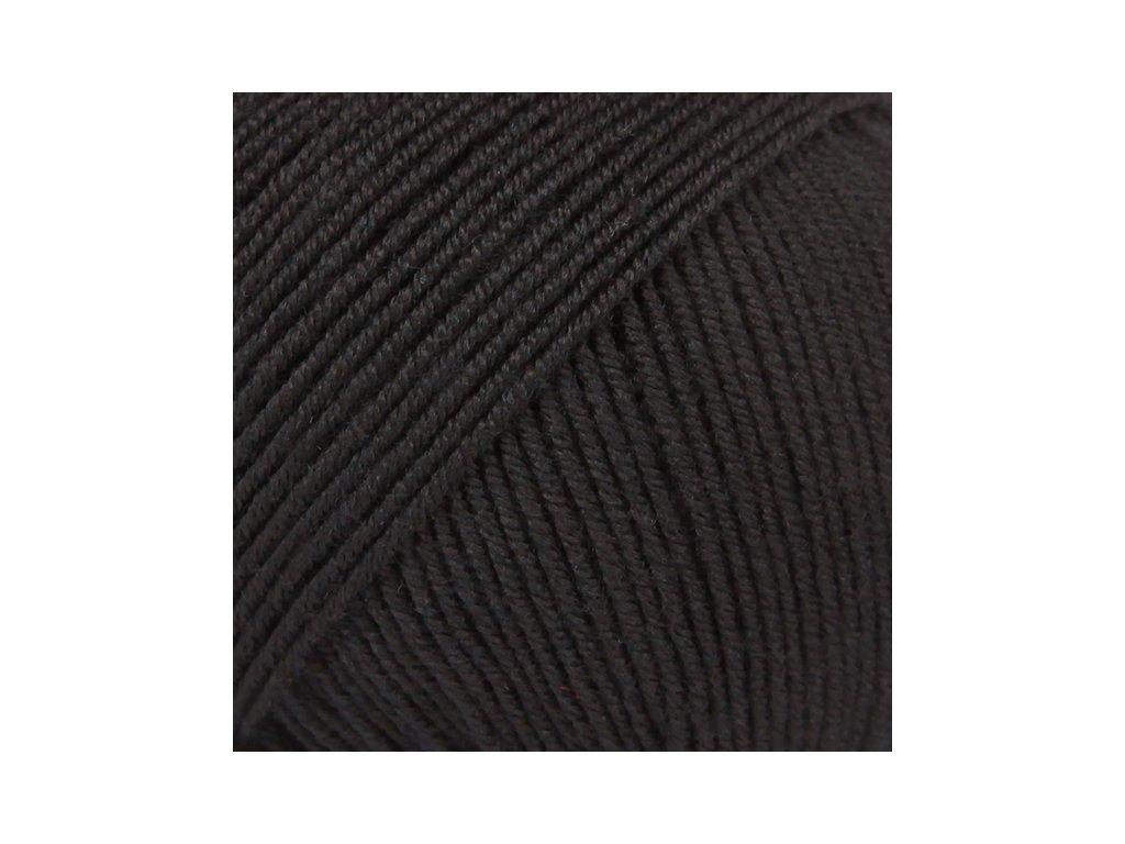 DROPS Baby Merino uni colour 21 - černá