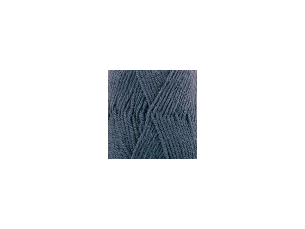 DROPS Karisma uni colour 65 - džínově modrá