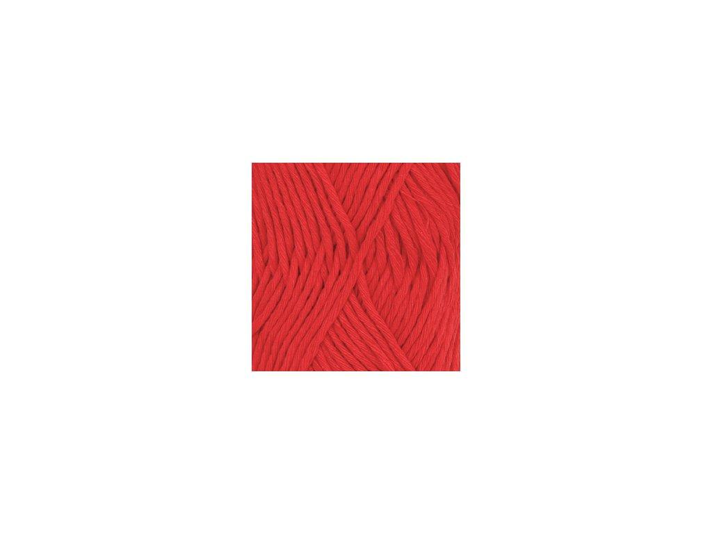 DROPS Cotton Light uni colour 32 - červená