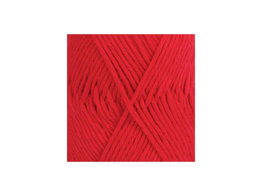 DROPS Paris uni colour 12 - červená