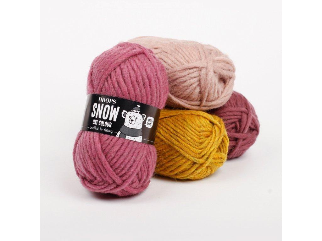 DROPS Eskimo uni colour 29 - zelenožlutá