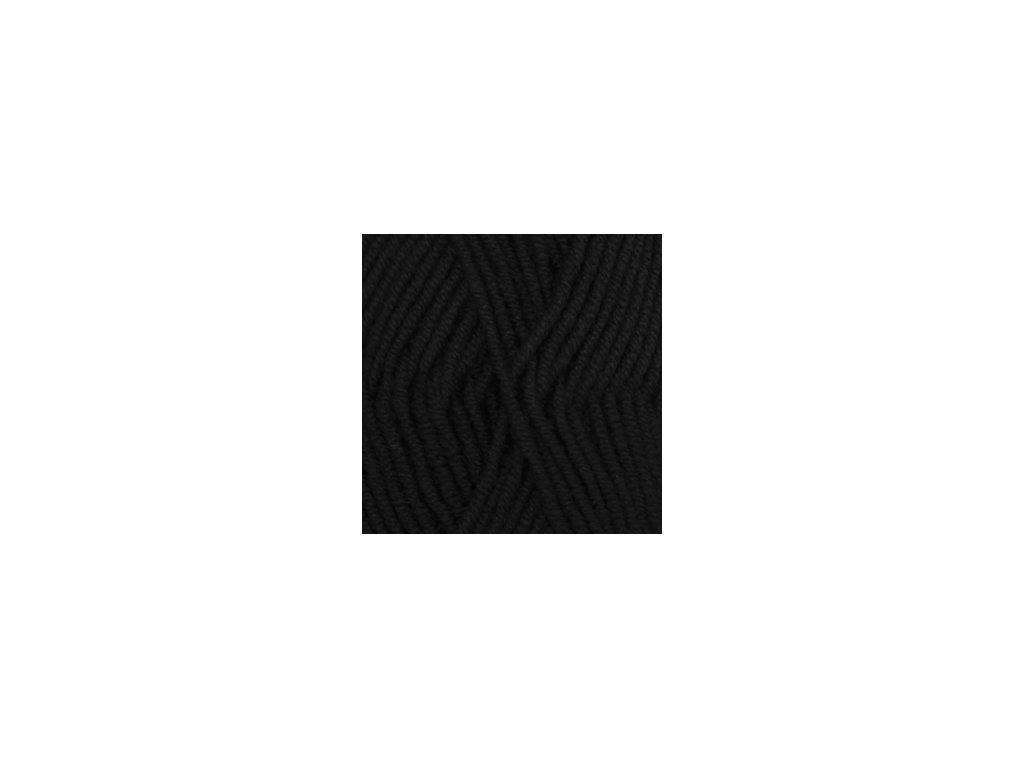 DROPS Big Merino uni colour 04 - černá