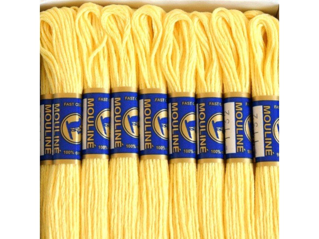 Vyšívací příze Mouline - 1132 vanilka