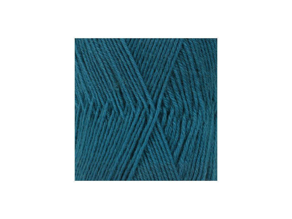 DROPS Fabel uni colour 105 - tyrkysová