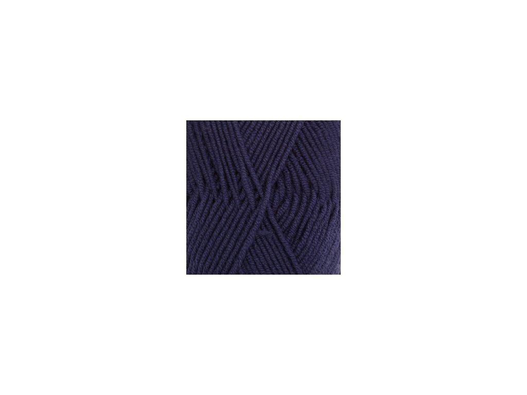 DROPS Merino Extra Fine uni colour 20 - modrá