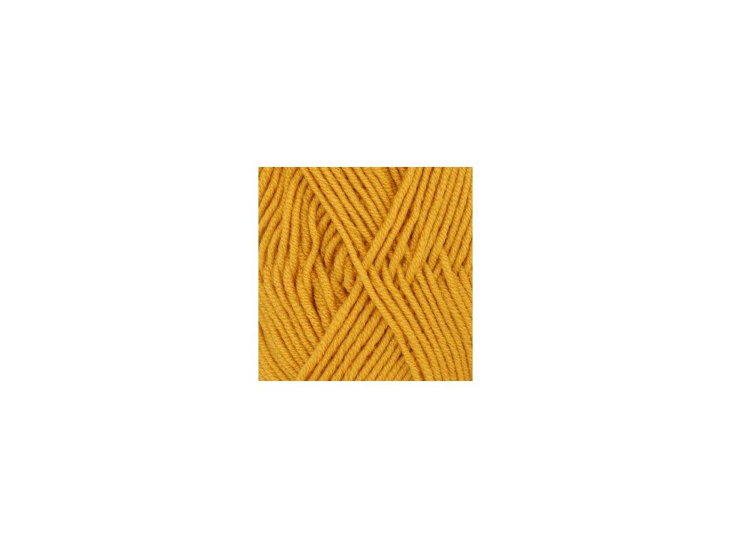 DROPS Merino Extra Fine uni colour 30 - zlatá