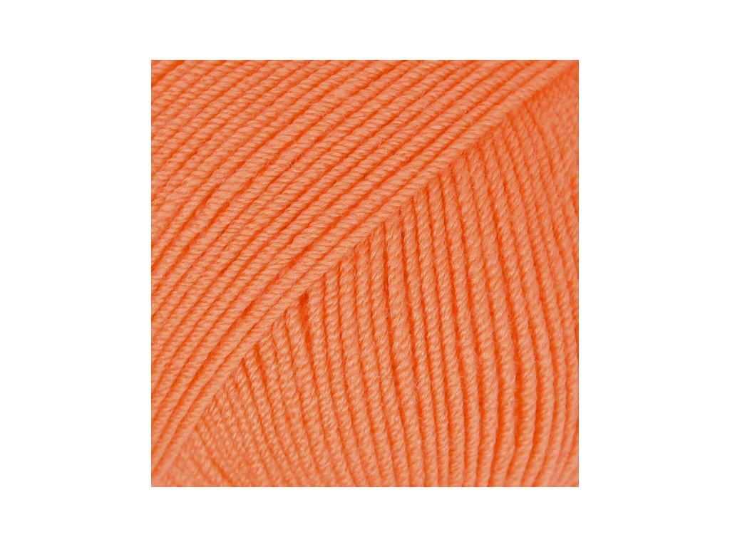 DROPS Baby Merino uni colour 36 - oranžová