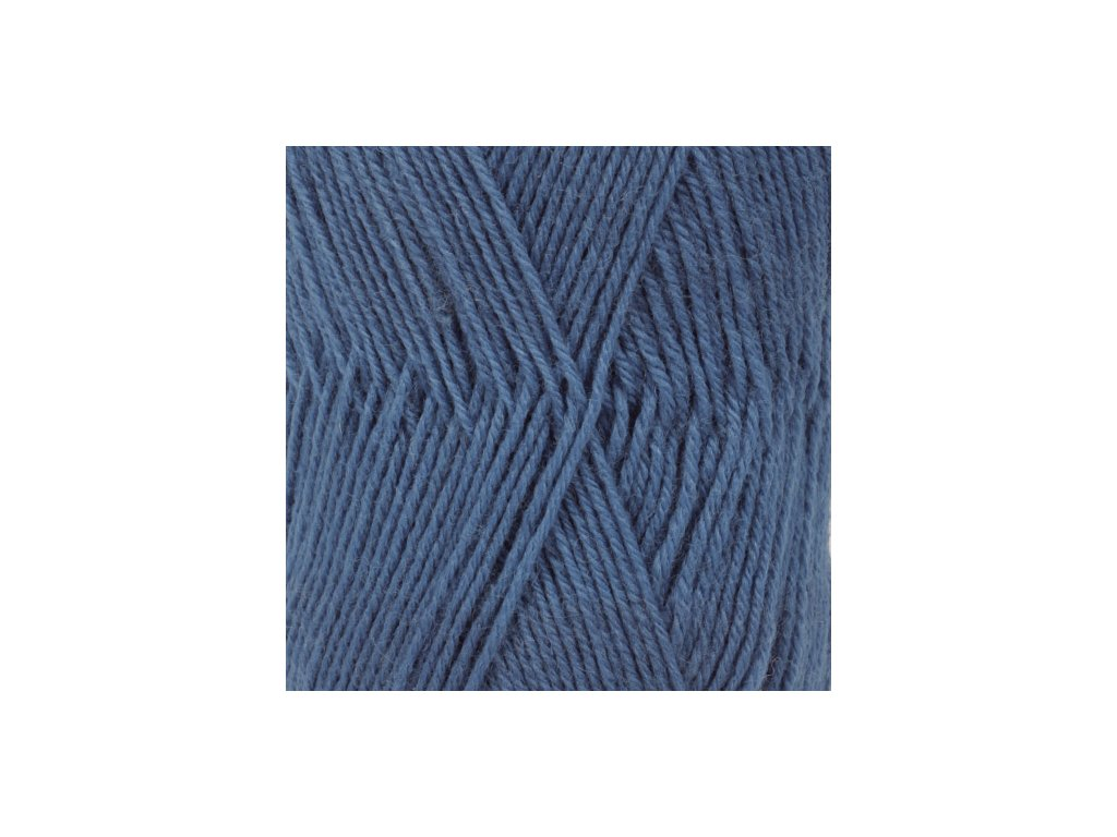 DROPS Fabel uni colour 108 - královská modrá