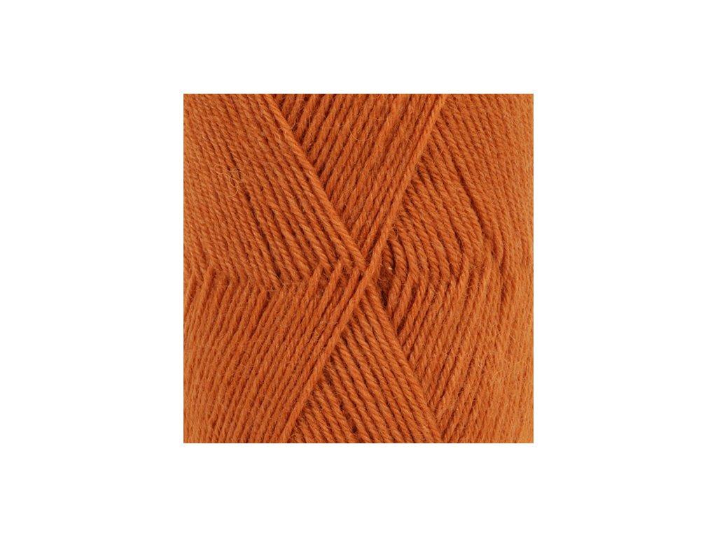 DROPS Fabel uni colour 110 - rezavá