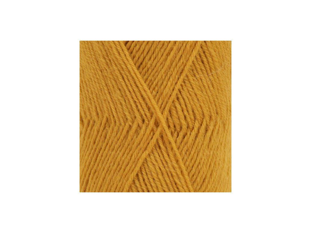 DROPS Fabel uni colour 111 - hořčice