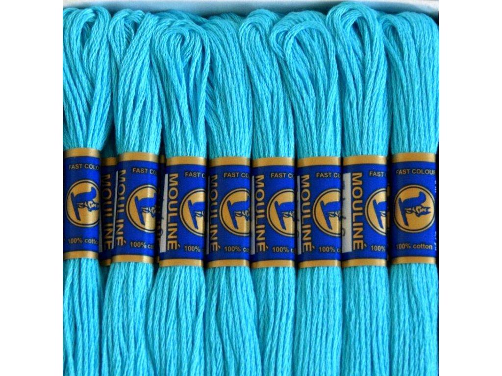 Vyšívací příze Mouline - 5742 nebesky modrá