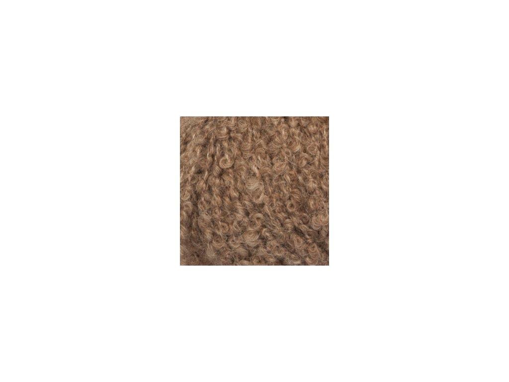 DROPS Alpaca Bouclé mix 0602 - hnědá