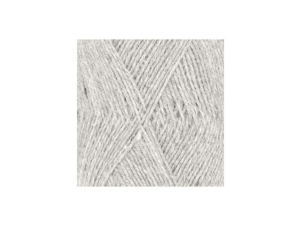 DROPS Fabel uni colour 114 - stříbrošedá