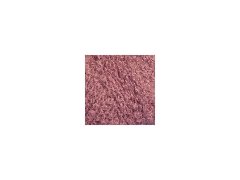 DROPS Alpaca Bouclé uni colour 3250 - starorůžová