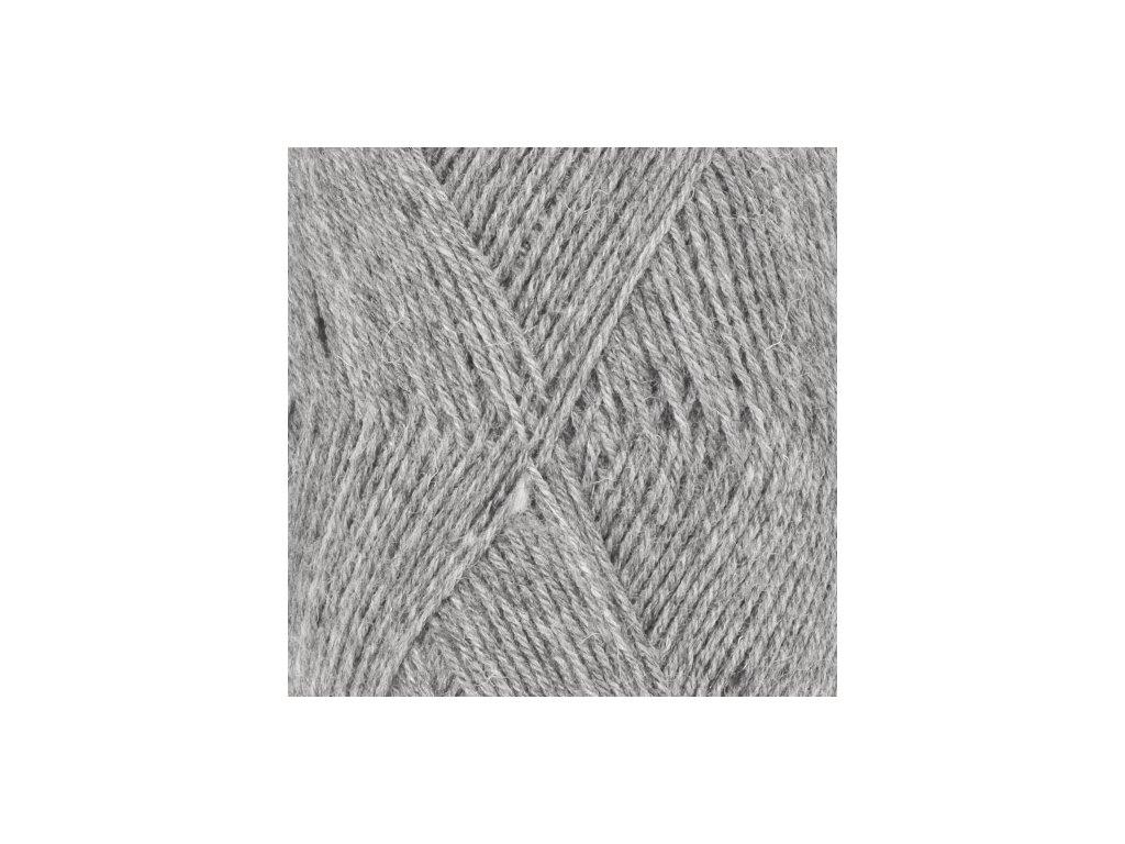 DROPS Fabel uni colour 115 - světlá šedá