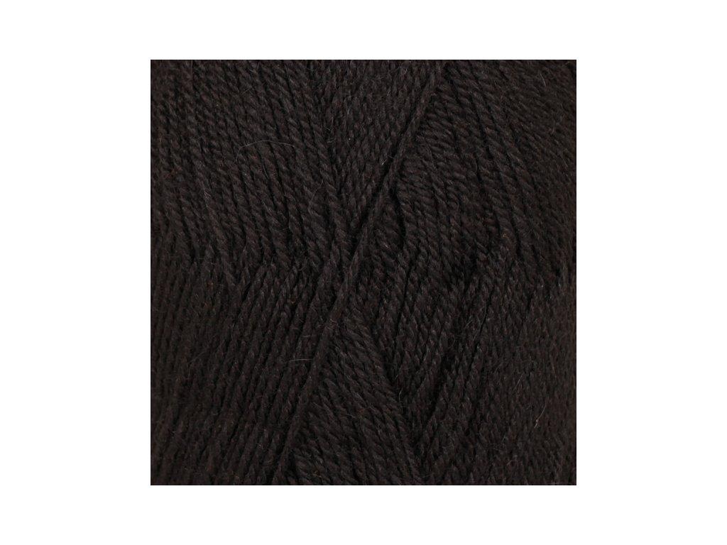 DROPS Flora uni colour 06 - černá