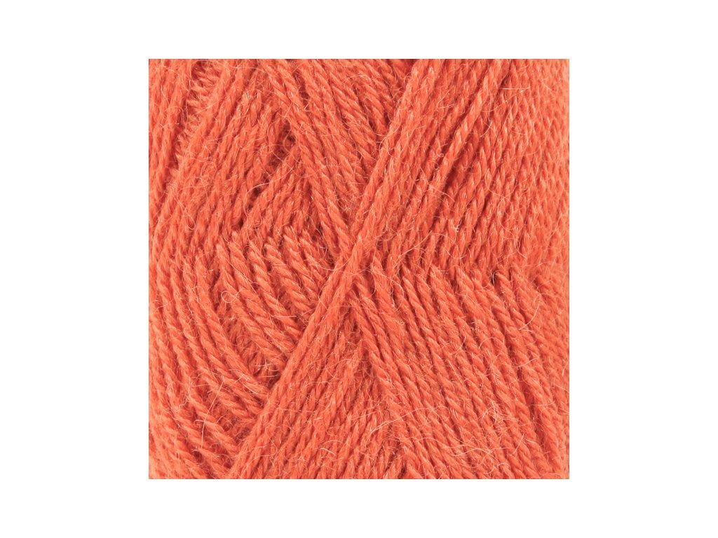 DROPS Alpaca uni colour 2915 - pomerančová