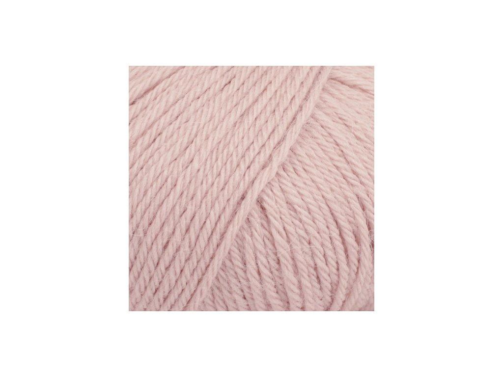 DROPS Puna uni colour 09 - pudrově růžová