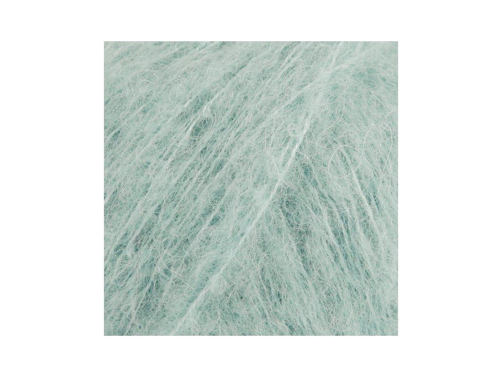 DROPS Brushed Alpaca Silk uni colour 15 - světlá tyrkysová