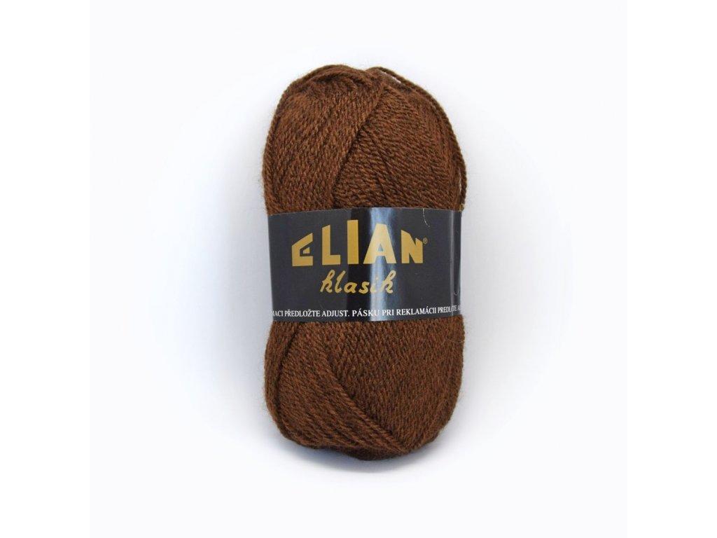 Elian Klasik 367 - hnědá