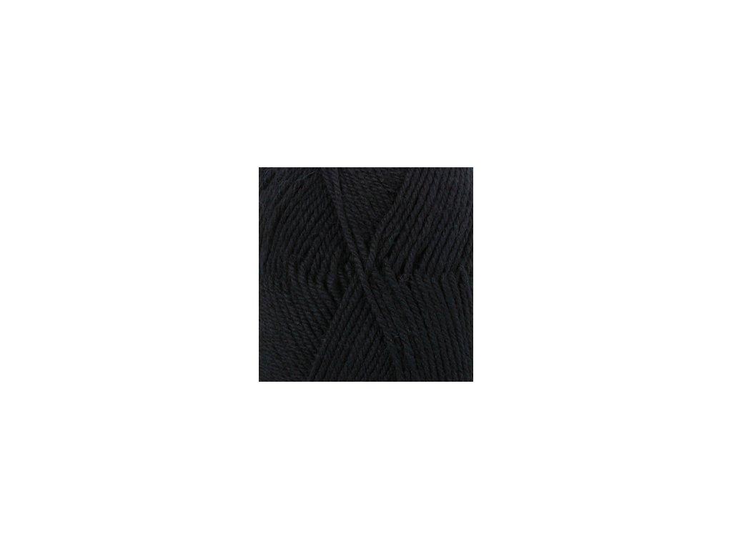 DROPS Karisma uni colour 05 - černá