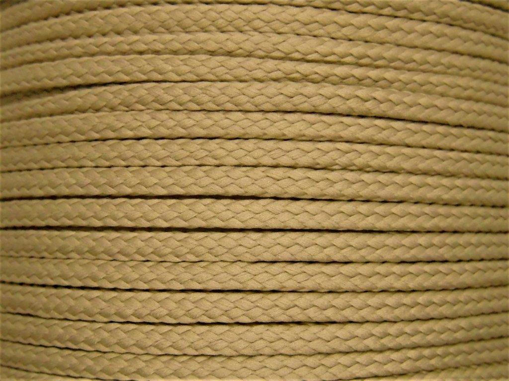 881 1 polyesterova snura yarnmellow loopy dubova