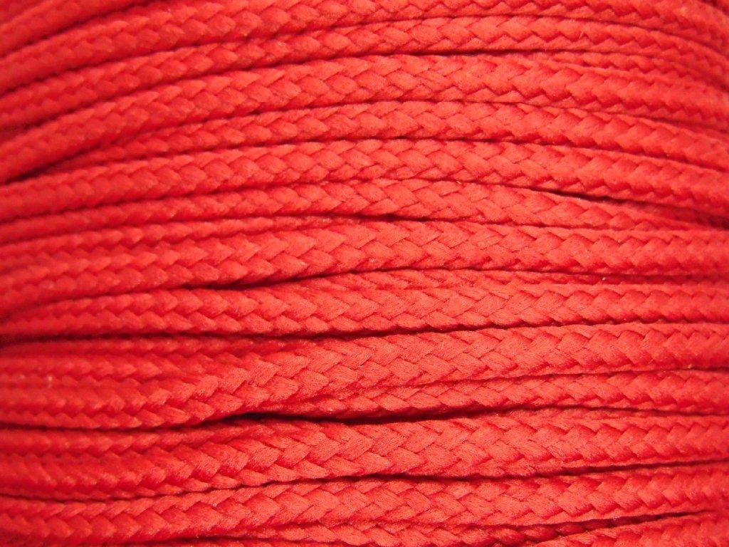 647 polyesterova snura yarnmellow loopy jahodova