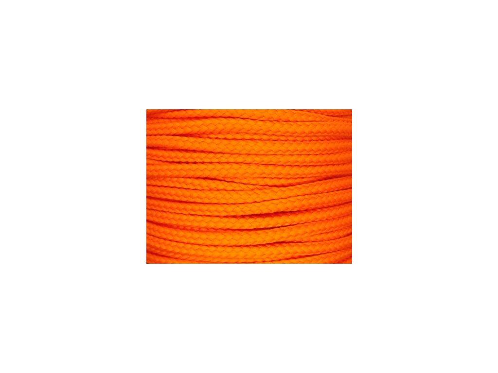 683 1 polyesterova snura yarnmellow loopy mandarinkova