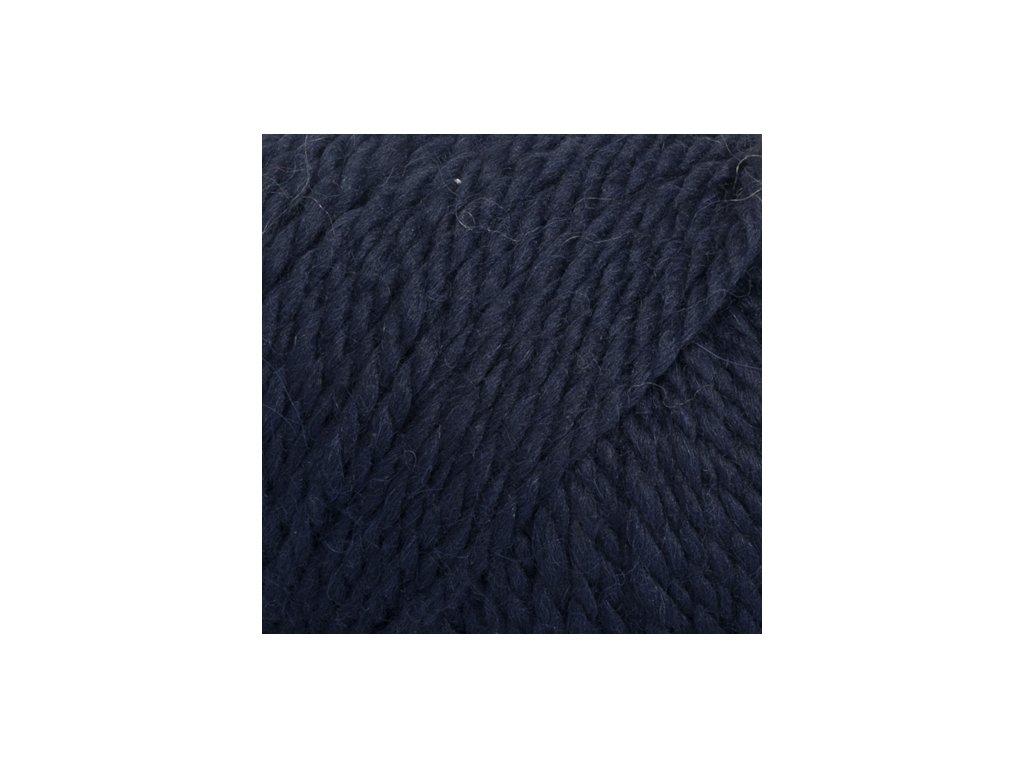 DROPS Andes uni colour 6990 - tmavá modrá