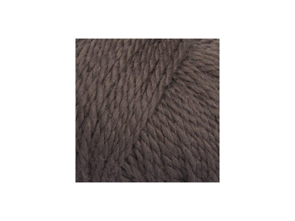 DROPS Andes uni colour 5610 - hnědá