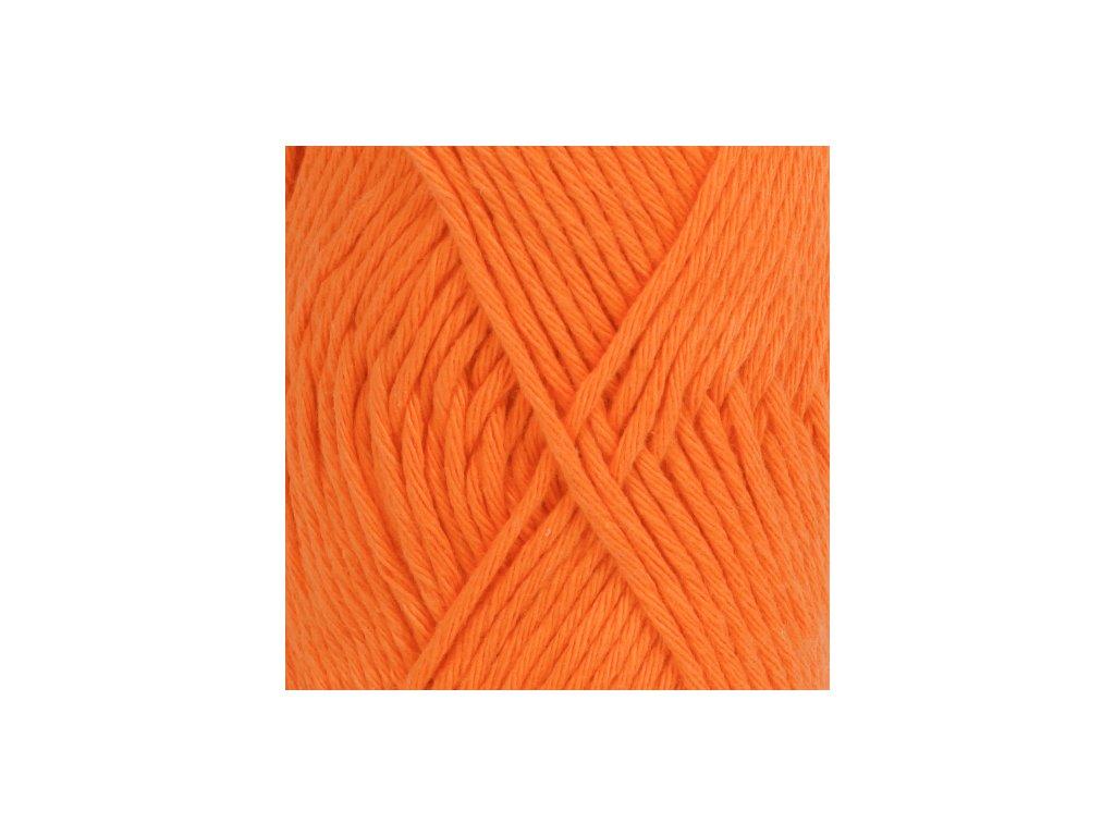 DROPS Paris uni colour 13 - oranžová