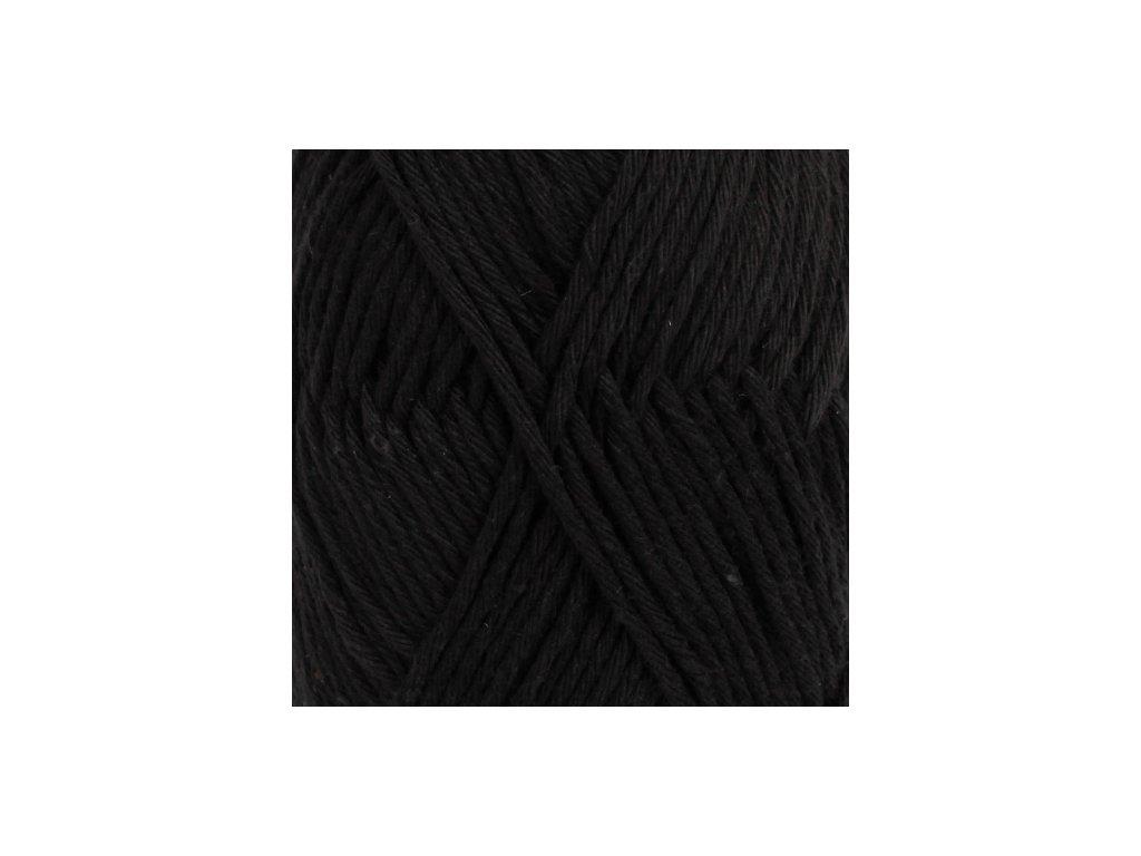 DROPS Paris uni colour 15 - černá