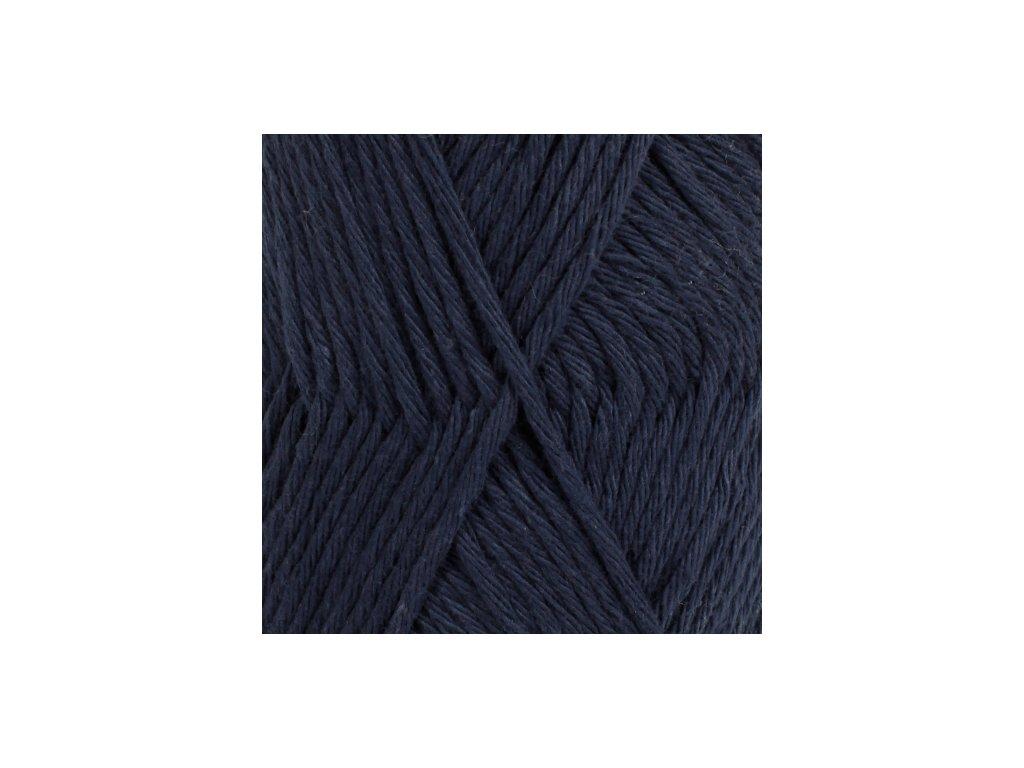 DROPS Paris uni colour 28 - tmavá modrá