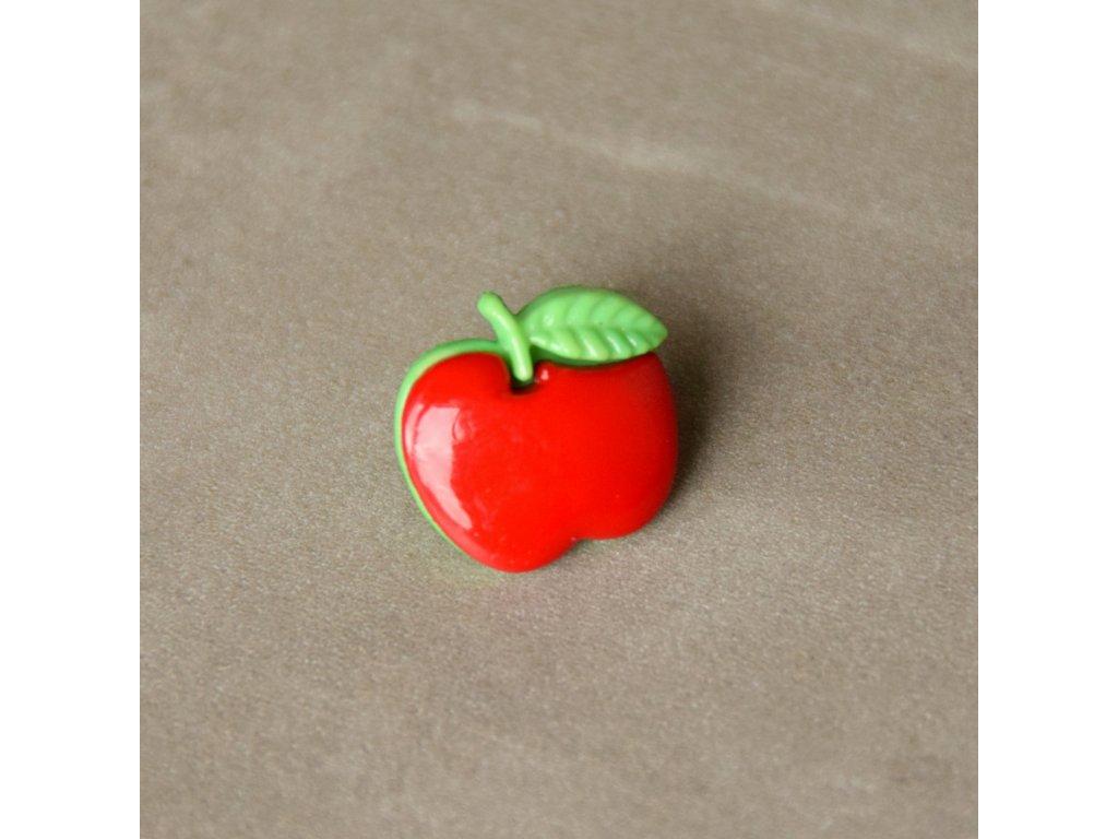 Knoflík - jablíčko
