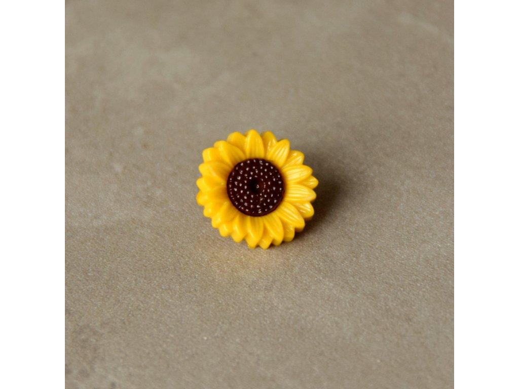 Knoflík - slunečnice