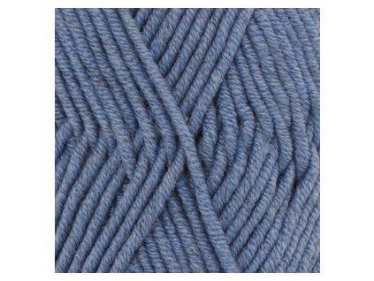 DROPS Big Merino uni colour 07 - džínově modrá